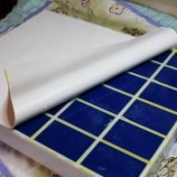 3D mat peel back